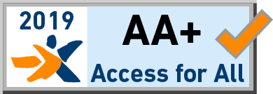 Logo Access for All 2019 AA+